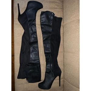 Call It Spring Shoes - Call It Spring over the knee boots